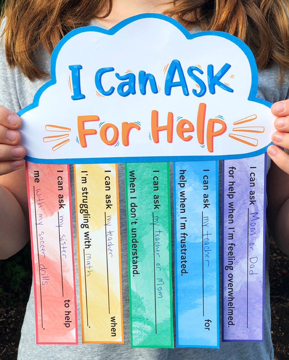 Counselor's Hub: Learn to Ask for Help